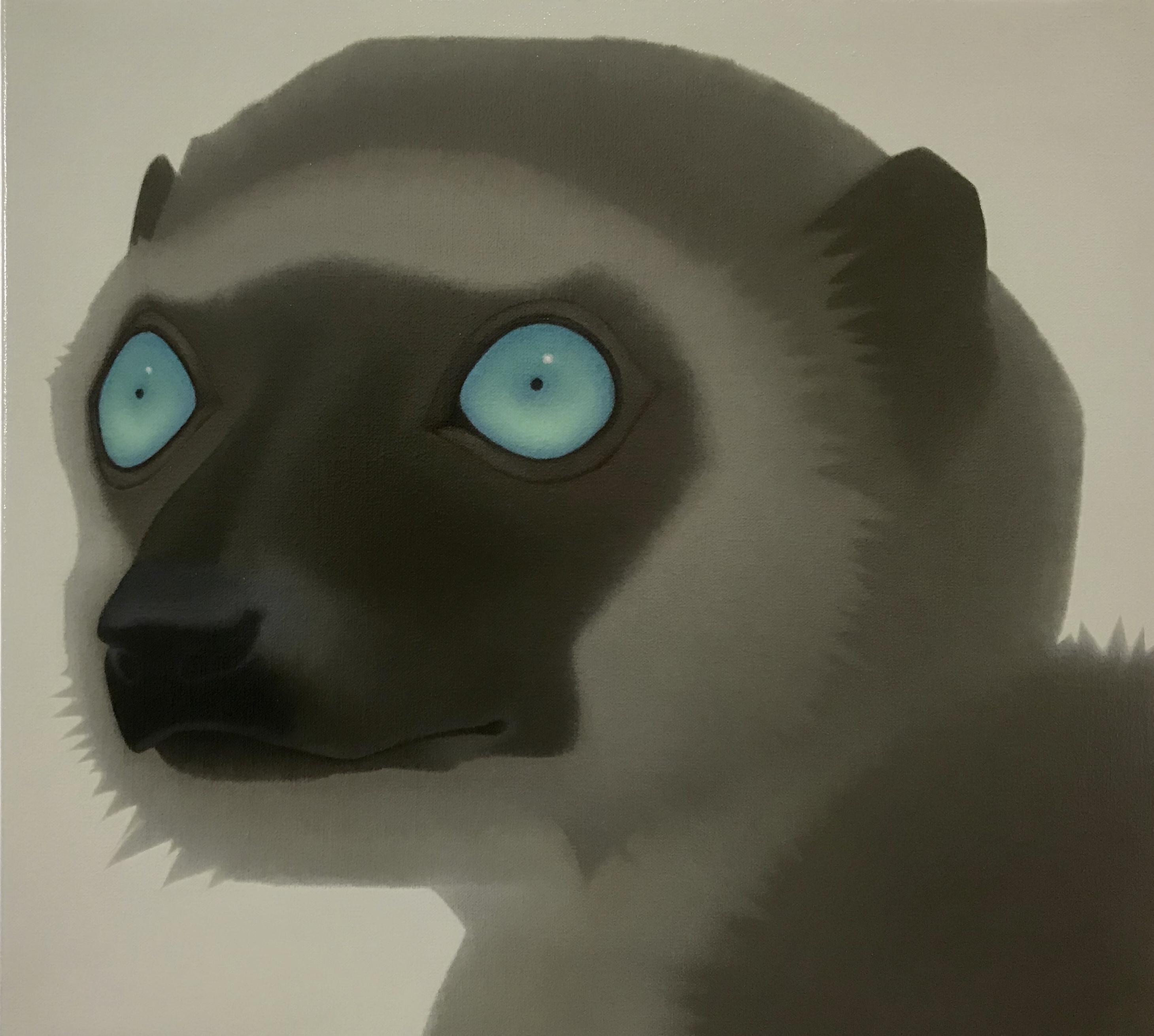 Painting of a Lemur